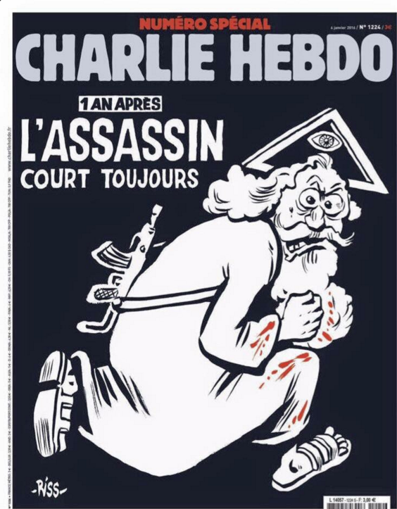 Charlie Hebdo couverture