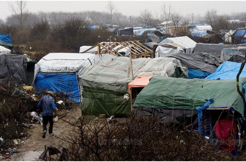 camp de migrants